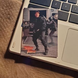 Cover fire starship troopers card